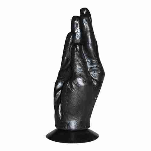 All Black Fisting Hand|
