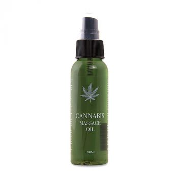 Cannabis Massageolie - 100ml|