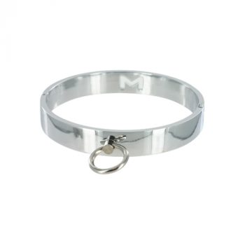 Chrome Slave Collar - Medium/Large|