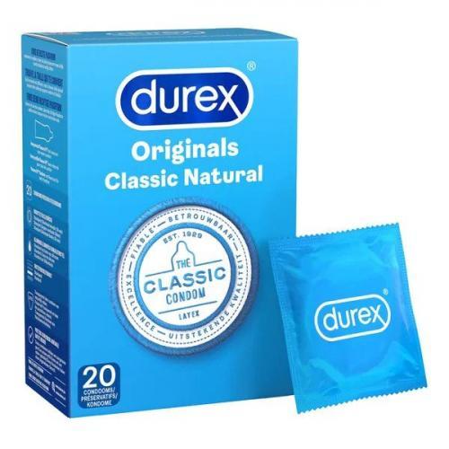 Durex Classic Natural 20st|