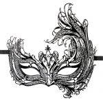 Easytoys Open Venetiaans Masker - Zwart 