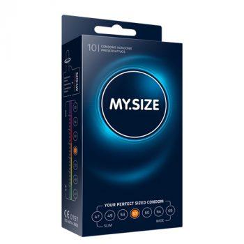 MY.SIZE 57 mm Condooms 10 stuks|