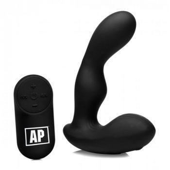 P-Stroke Prostaat Vibrator Met Bewegende Top|