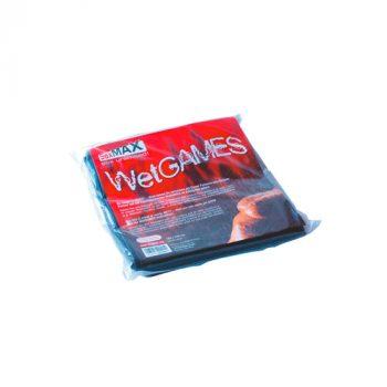 SexMAX WetGAMES Laklaken 180 x 220 cm - Zwart|