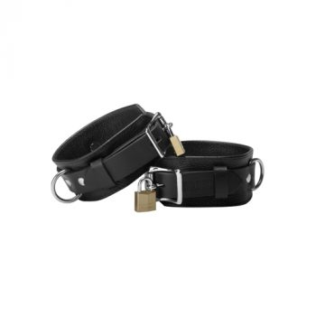 Strict Leather Deluxe Locking Cuffs|