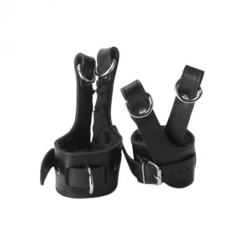 Strict Leather Fleece Lined Suspension Cuffs|