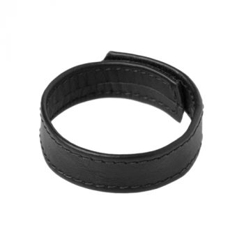 Strict Leather Velcro Cock Ring|