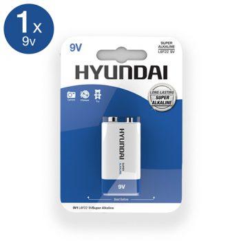 Super Alkaline 9V Batterij|