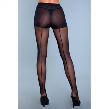 Walk Right Out Naadpanty - Zwart|