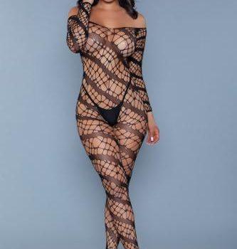 Web of Love Body - Zwart 