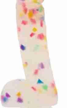 Addiction - Party Marty Confetti Dildo - 19 cm|