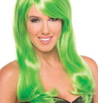 Burlesque Pruik - Groen|