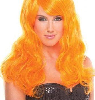 Burlesque Pruik - Oranje|