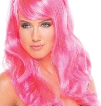 Burlesque Pruik - Roze|