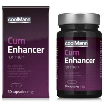 CoolMann - Cum Enhancer Sperma Verbeteraar - 30 stuks|