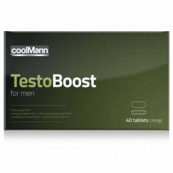 CoolMann - Testoboost - 40 stuks|