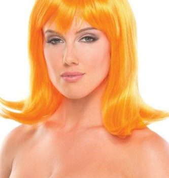 Doll Pruik - Oranje|