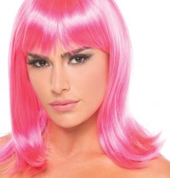 Doll Pruik - Roze|