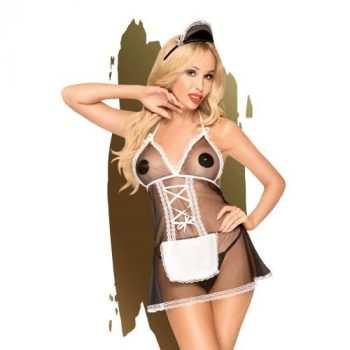 Penthouse Lingerie -Teaser French Maide Kostuum|